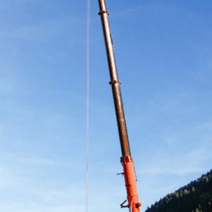 Intervento sulle Dolomiti