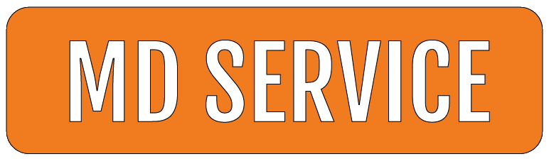 MD SERVICE logo