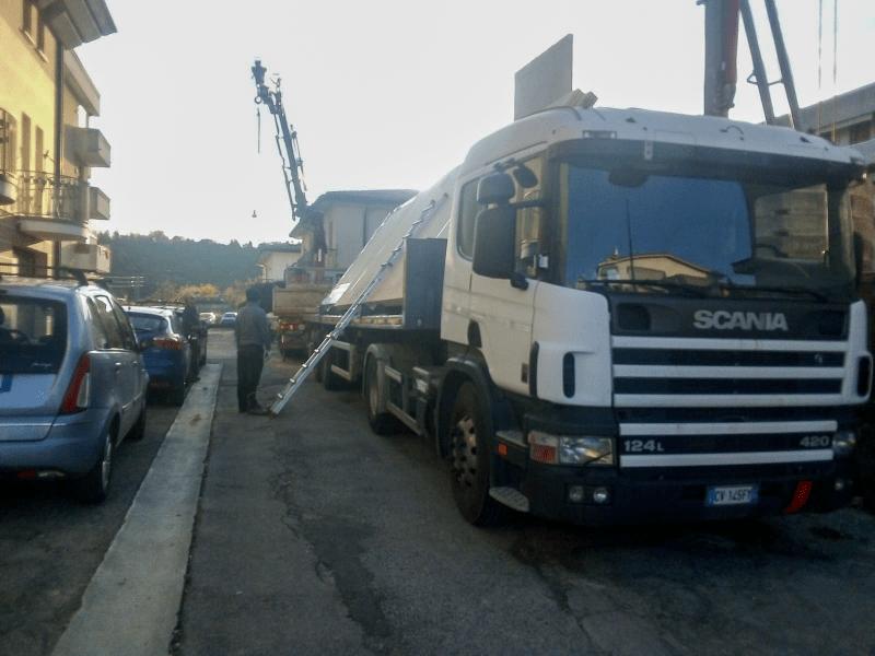 Trasporto grandi pannelli
